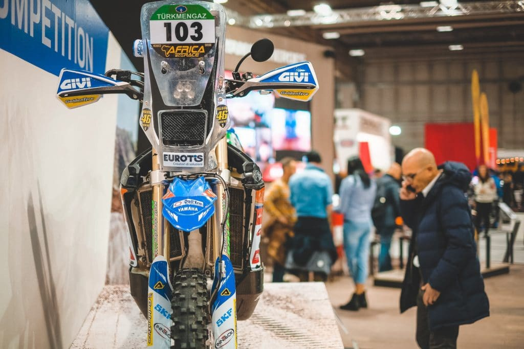 Yamaha a Motor Bike Expo